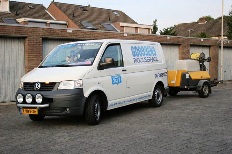 Riool ontstoppen Bergen op Zoom